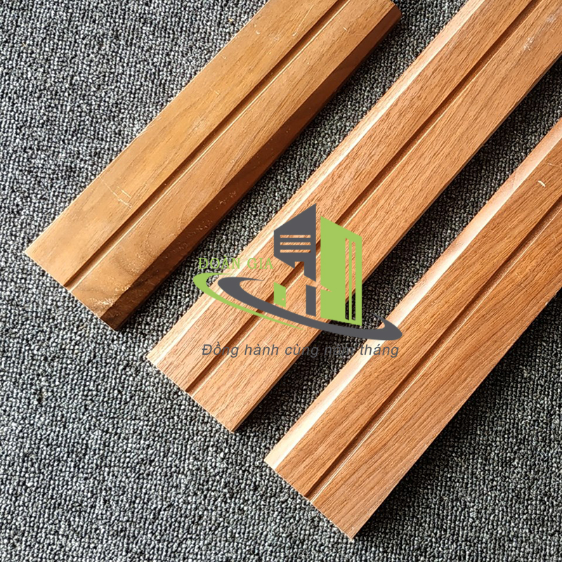 Nẹp gỗ tự nhiên