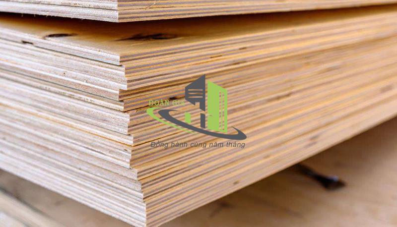 Gỗ dán chất lượng cao - Đặc điểm ứng dụng gỗ dán